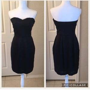 Club Monaco Corset-Style Dress with Pockets